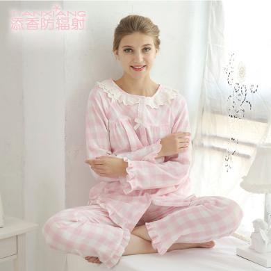 添香月子服孕婦睡衣哺乳衣外出家居服產婦喂奶月子服薄款純棉四季