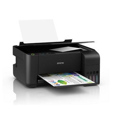 愛普生 L3118 A4彩色內置墨倉式一體機(打印 復印 掃描)黑(L3118)