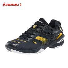 川崎(KAWASAKI)羽毛球鞋王者系列男女款运动鞋羽球鞋防滑透气耐磨减震K-522