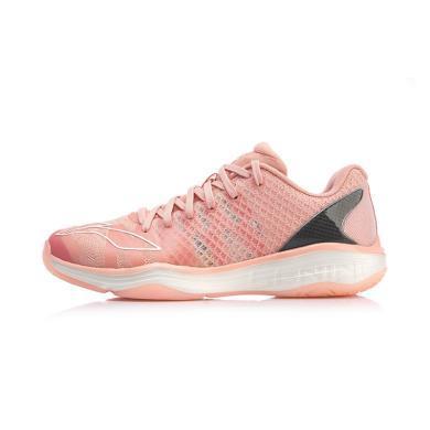 李寧羽毛球鞋女鞋2019新款鶻鷹2.0女士情侶鞋專業低幫羽毛球鞋AYAP006