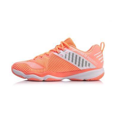 李寧變色龍RANGER 4.0 TD羽毛球鞋女鞋2019新款中幫專業運動球鞋AYTP028
