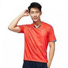 川崎(KAWASAKI)羽毛球服运动T恤男女吸湿排汗短袖