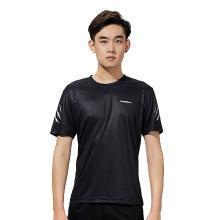 kawasaki/川崎 新款专业羽毛球服男女运动短袖圆领吸汗透气速干