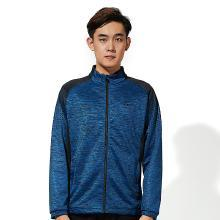 Kawasaki/川崎新款秋冬羽毛球服上衣?#20449;?#27454;长袖外套针织运动服