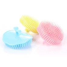 姣兰 柔软式 洗头刷 洗头梳子 洗发刷 按摩刷 洗头器 沐浴刷子