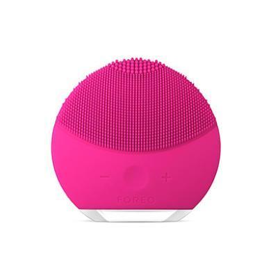 瑞典FOREO斐珞爾 硅膠電動潔面儀 Luna Mini2 櫻桃紅全方位潔面 溫和舒適 防水 電力持香港直郵