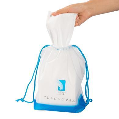 【支持購物卡】【3包】日本ITO純棉美容洗臉巾一次性家用加厚潔面巾柔巾卷洗水親膚 80片/包