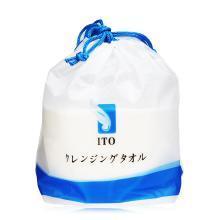 【香港直邮】日本ITO洗脸巾珍珠棉柔巾家用纸巾一次性洁面巾大卷加厚干湿两用 80片*1卷