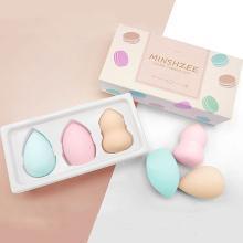 【3個裝】美妝蛋套裝海綿干濕兩用葫蘆粉撲不吃粉單彩妝蛋粉撲蛋化妝蛋