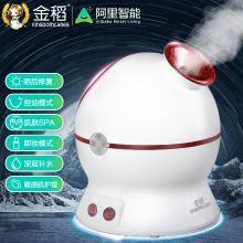 金稻新款蒸?#31216;?#20919;热双喷美容仪器喷雾机家用纳米蒸面器离子补水仪