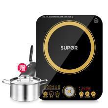 蘇泊爾(SUPOR) 電磁爐 家用大功率電池爐電磁灶電磁鍋超薄觸控IH13E9-210