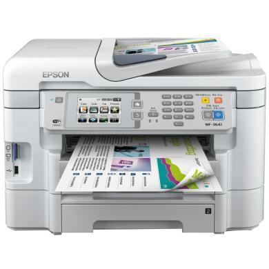 愛普生多功能一體機WF-3641  打印、復印、掃描、傳真、網絡、WIFI(WF-3641)