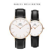 丹尼尔惠灵顿(Daniel Wellington)DW男女手表情侣表皮带石英表