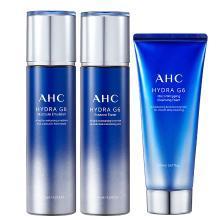 【支持购物卡】韩国AHC 新款G6水乳洗面?#22871;?#21512;装(水130ml+乳130ml+洗面奶150ml)