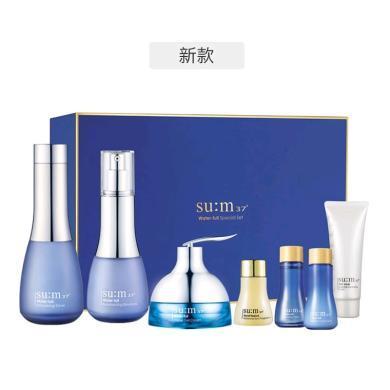 【支持購物卡】韓國su:m37o蘇秘37? 呼吸驚喜水份系列水乳藍套盒