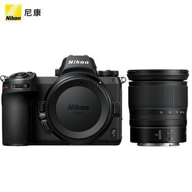 尼康(Nikon)Z7 24-70mm  全画幅微单数码相机套机 (尼克尔 Z 24-70mm f/4 S 标准变焦镜头)