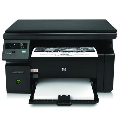 惠普(HP)打印機 M1136 多功能三合一黑白激光一體機 打印機 復印機 掃描儀(打印 復印 掃描)