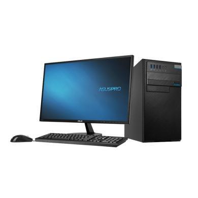 华硕(ASUS)D520MT 台式电脑(I3-7100 4G 1TB 集显 DRW 带PCI 键鼠 DOS 21.5LED 三年上门)(D520MT)