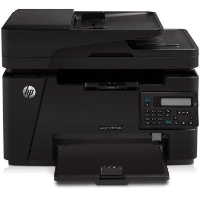 惠普(HP)LaserJet Pro MFP M128fn黑白激光多功能一体机 打印机 打印复印扫描传真