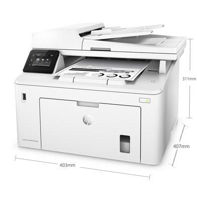 惠普(HP)M227fdw四合一無線黑白激光一體機QQ無線物聯 打印機(打印、復印、掃描、傳真、自動雙面打印)