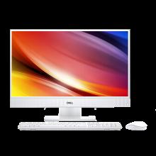 戴爾(DELL)靈越AIO 23英寸一體機窄邊框家用辦公游戲臺式電腦3475-1608W (A6 4GB內存 1TB機械硬盤 無線鍵鼠)
