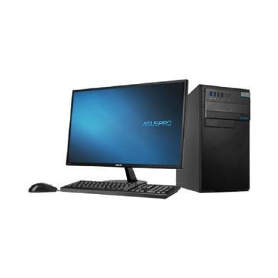 华硕D630MT台式电脑I5-7500 4G 1TB+128G SSD DRW win10 23.8寸LED 网络同传 三年保修上门服务(630MT)