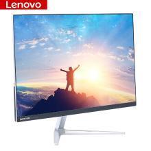 聯想(ThinkVision) 電腦顯示器23.8英寸 IPS屏窄邊框液晶V24(HDMI+VGA)高清屏