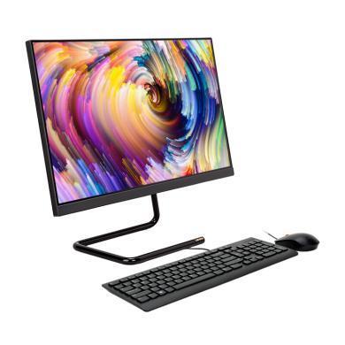 联想(Lenovo)AIO 520C-24  23.8英寸 致美一体台式电脑(酷睿8代 I3-8145 8G 256SSD固态硬盘 WIFI 蓝牙 三年上门 无摄像头 win10)