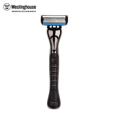 西屋(Westinghouse)手動剃須刀R5 剃須刀 金屬材質刀柄 水溶潤滑 清潔便利 一鍵更換 全身水洗