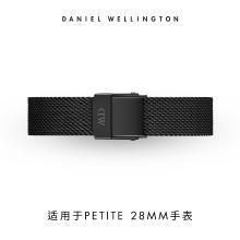 丹尼尔惠灵顿(Daniel Wellington)DW女士石英表手表12mm黑色金属表带