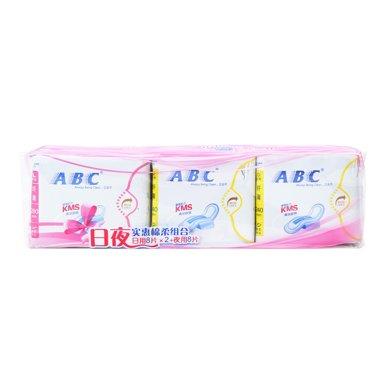 ABC日用纖薄2*8片+夜用8片組合裝(24片)