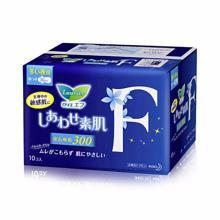 花王乐而雅 F系列 量多夜用 带护翼卫生巾(30cm *10片)