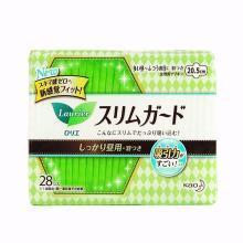 乐而雅 零触感丝薄 安心夜用 带护翼卫生巾(20.5cm*28片)