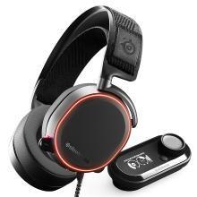 SteelSeries(赛睿)Arctis寒冰Pro +GameDac电竞游戏耳机 黑色