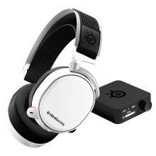 SteelSeries(赛睿)Arctis寒冰Pro Wireless无线 电竞游戏耳机 白色
