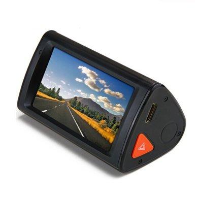 飛利浦(PHILIPS)CVR500行車記錄儀全高清1080P 3.0觸摸屏 一鍵鎖定視頻
