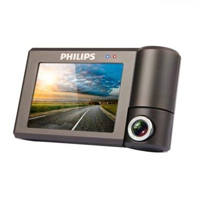飛利浦(PHILIPS)CVR600 行車記錄儀 1080P 300度可旋轉鏡頭 觸摸屏