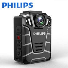 飞利浦 PHILIPS 执法记录仪 VTR8110-32G现场记录仪高清红外夜视1080P音视频行车记录便捷摄像机