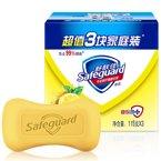 W舒肤佳柠檬清新型香皂(115g*3)