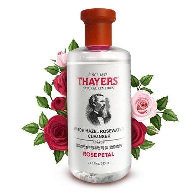 美國 THAYERS/津爾氏 金縷梅玫瑰保濕卸妝335ml