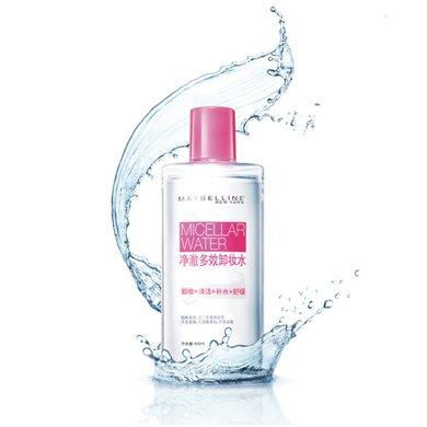 美寶蓮 凈澈多效卸妝水 400ml 無添加 不刺痛 舒緩肌膚 無需水洗