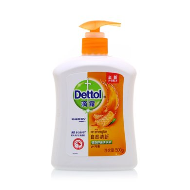 滴露健康抑菌洗手液自然清新(500g+300g)