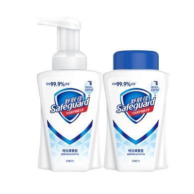 舒膚佳純白泡沫洗手液組合裝(225ml+225ml)