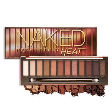 【支持購物卡】美國URBAN DECAY衰敗城市 裸妝眼影盤 NAKED HEAT 15.6g