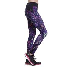 佐纳跑步运动裤女紧身迷彩针织瑜伽裤高弹小脚健身裤