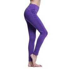 zoano佐纳 女紧身瑜伽裤轻薄针织运动长裤跑步九分裤健身