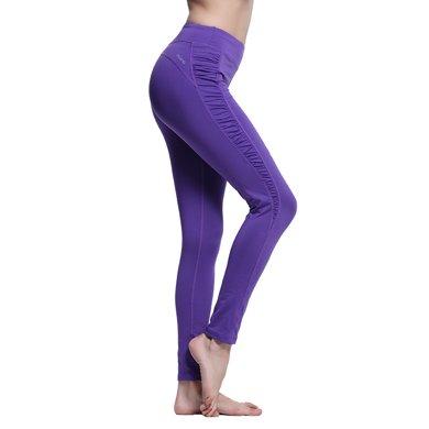 zoano佐納 女緊身瑜伽褲輕薄針織運動長褲跑步九分褲健身