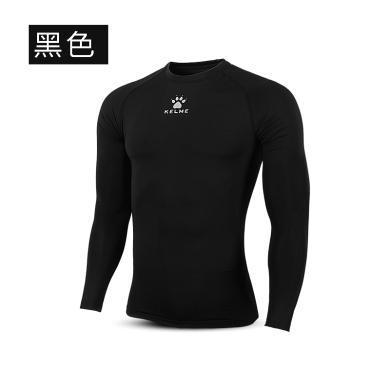 KELME卡爾美足球緊身衣套裝男足球服訓練服長袖加絨彈力保暖打底衣K15Z705