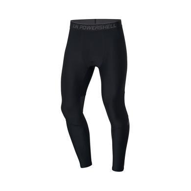 李寧健身褲男士訓練系列2019新款訓練褲男士透氣緊身針織運動長褲AULP047