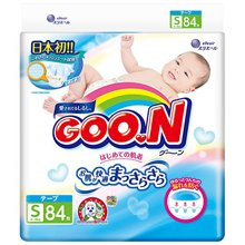 日本大王GOO.N维E系列纸尿裤(S84片)